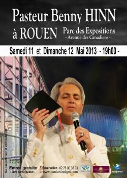 Mise en garde à propos du Pasteur Benny Hinn (Vidéo) Affiche-benny-hinn-rouen-finale-17383
