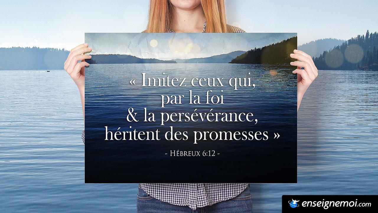 Hébreux 6:12