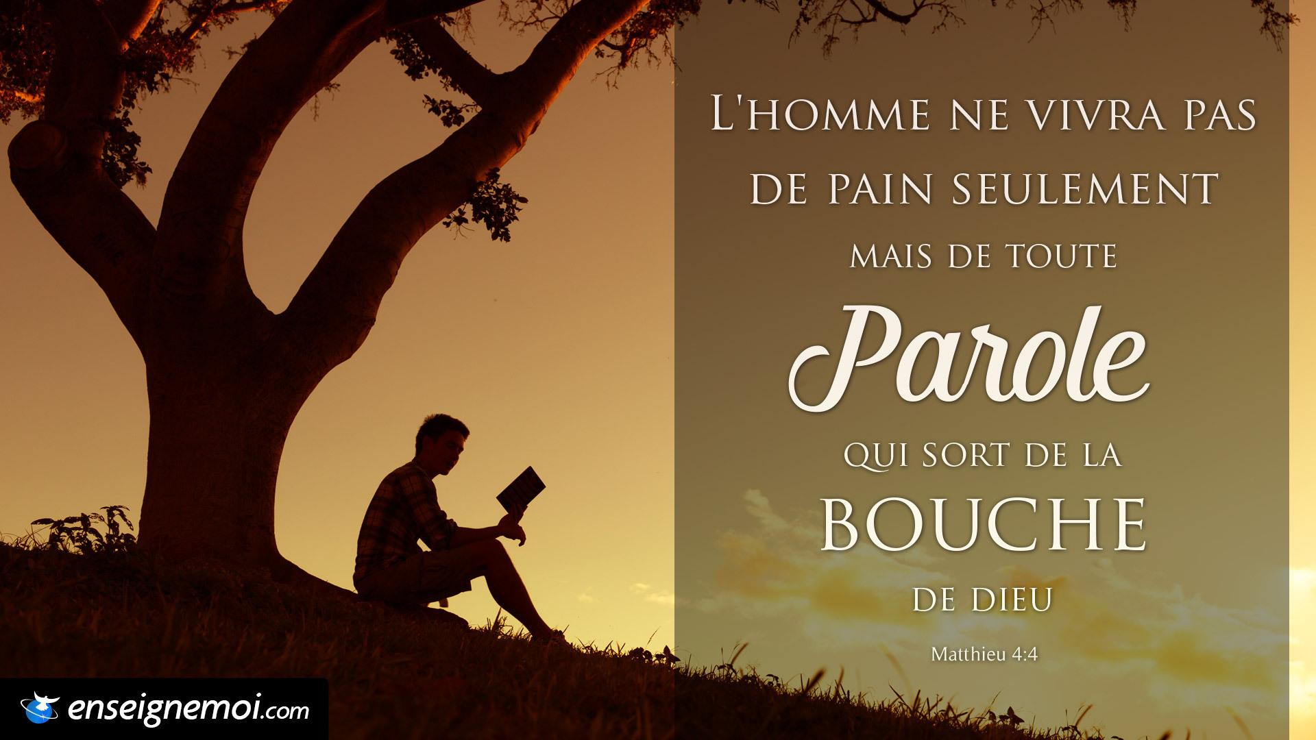 Très Le verset du jour en image :: Bible :: EnseigneMoi WE14