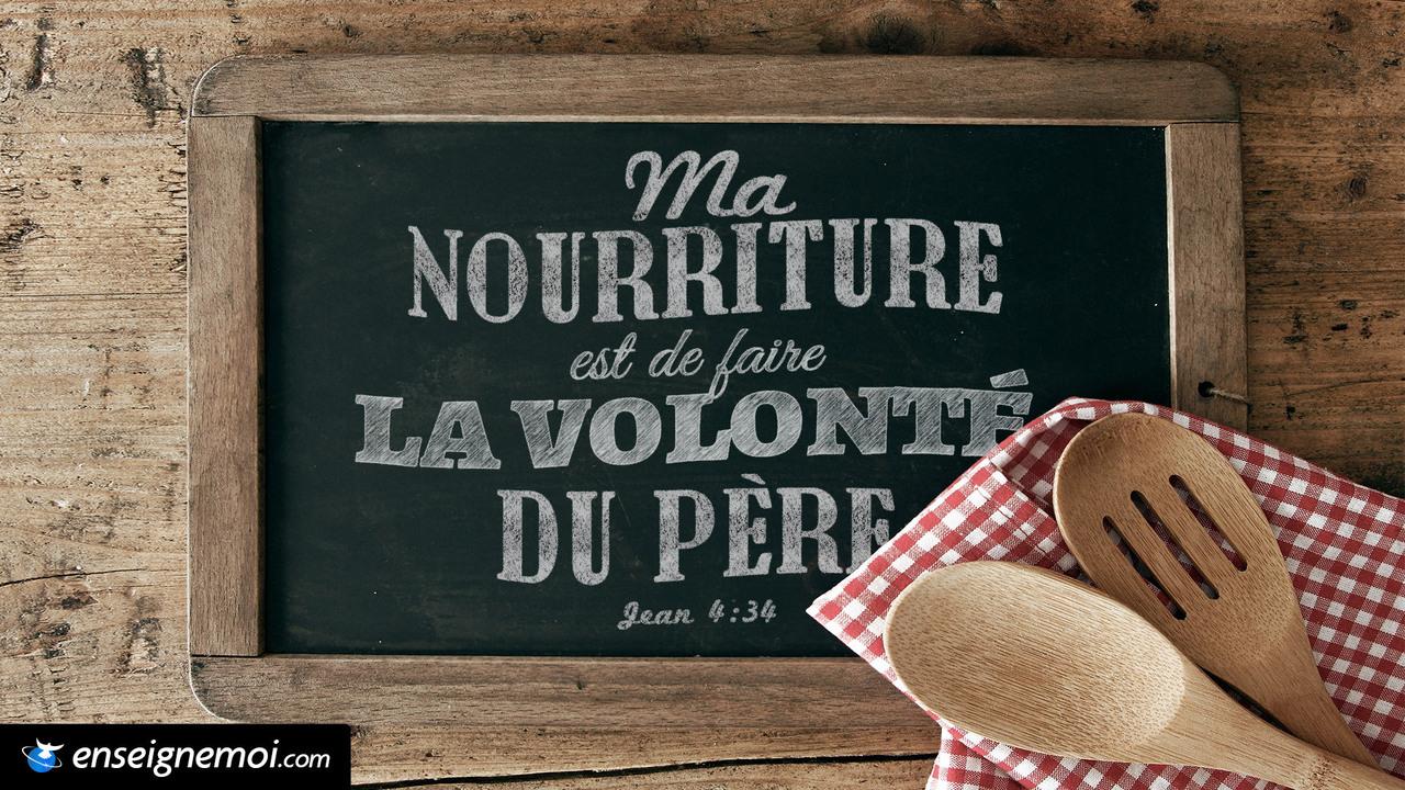 Jean 4:34