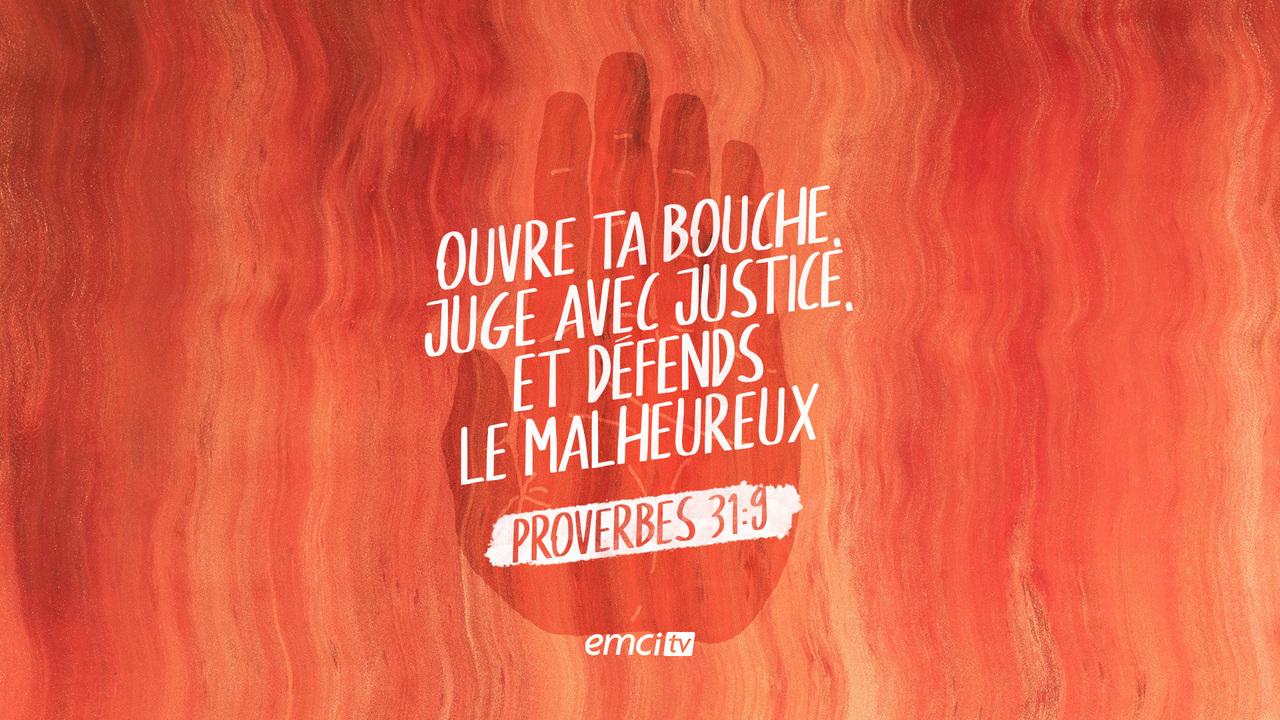 Proverbes 31:9