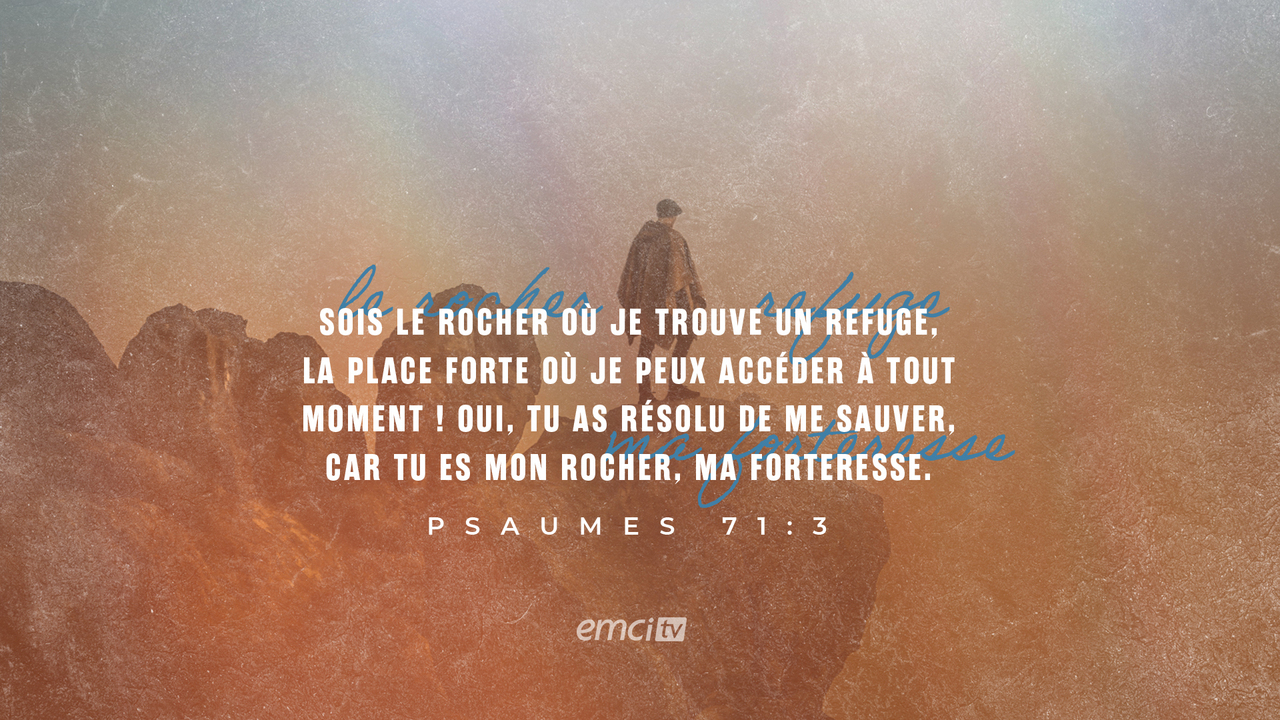 Psaumes 71:3