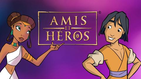 Visuel de l'émission Amis et Héros