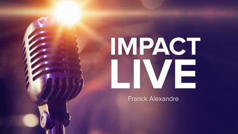 Visuel de l'émission Impact Live