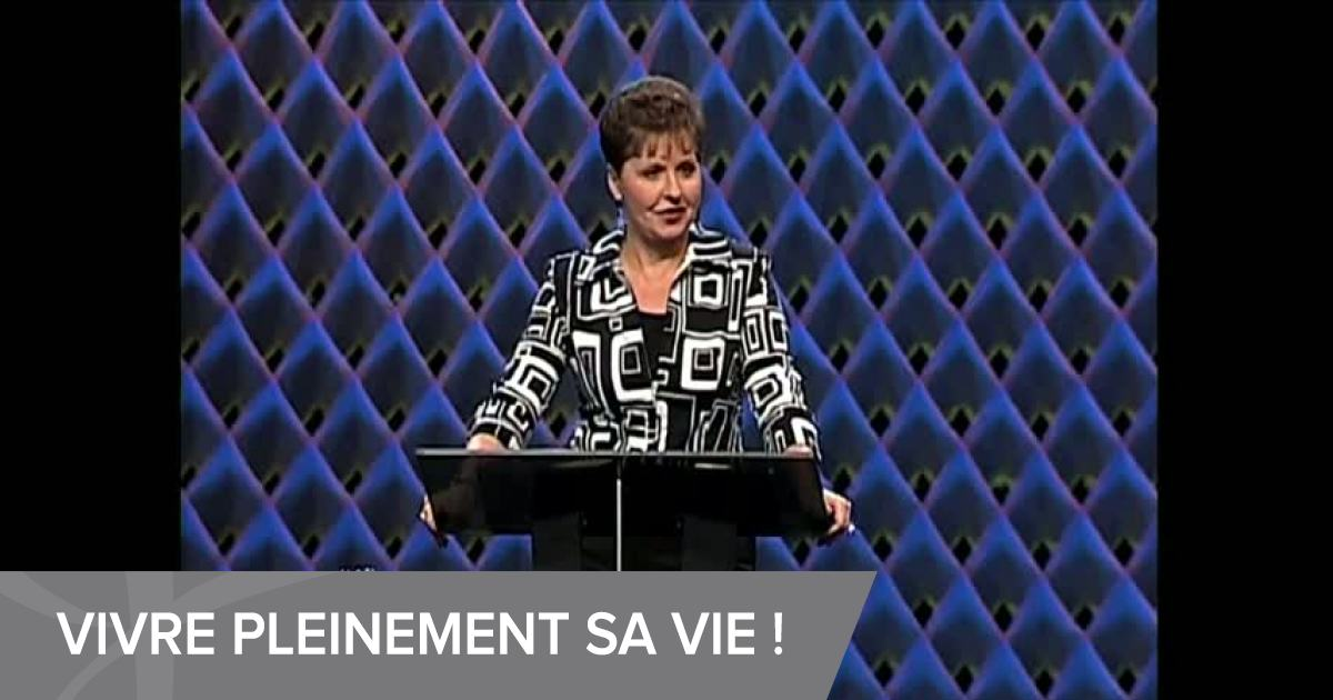comment vivre joyce meyer emci tv. Black Bedroom Furniture Sets. Home Design Ideas
