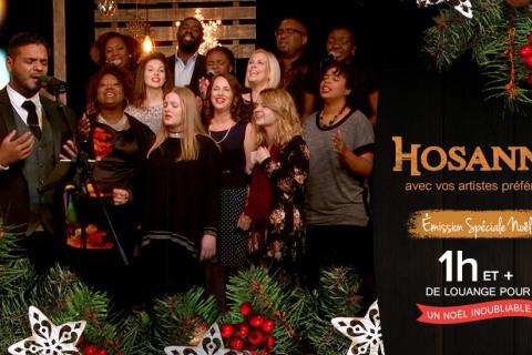 Hosanna Spécial Noël - 17 chants en français avec vos artistes préférés