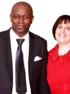 Jean-Claude et Florence Kponsou