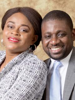 Athoms et Nadège Mbuma